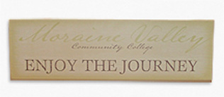 "Moraine ""Enjoy The Journey' Plaque"